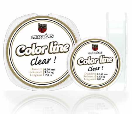 Color Line clear , leurresTruites.com